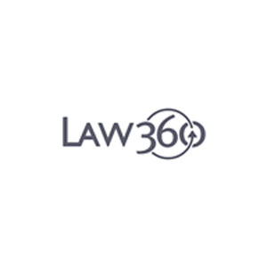Seen in Law 360 logo image